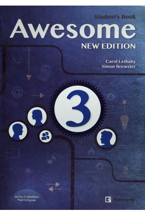 Awesome Update 3 - Student Book - Second Edition - Simon Brewster | Hoshan.org
