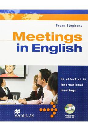Meetings In English - Be Effective In International Meetings - With Audio CD - Editora Macmillan pdf epub