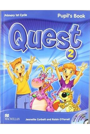 Quest 2 - Pupil's Book Pack with CD-Rom + Audio CD Songs + Key Booklet-2 - Macmillan   Nisrs.org