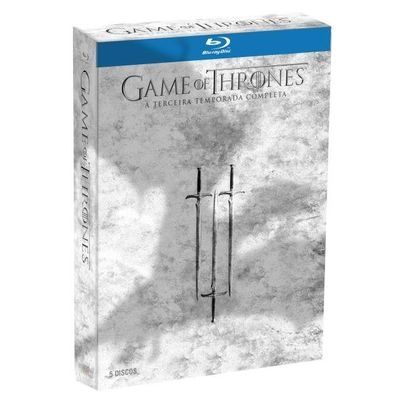Blu-ray Game Of Thrones - 3ª Temporada - 5 Discos