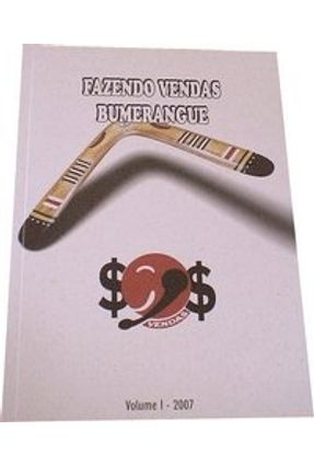 Edição antiga - Fazendo Vendas Bumerangue - Fernandes,Fernando   Hoshan.org