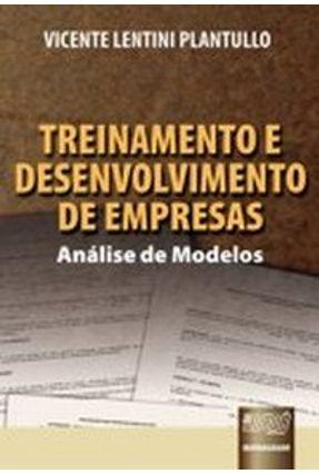 Treinamento e Desenvolvimento de Empresas - Análise de Modelos - Plantullo,Vicente Lentini | Nisrs.org