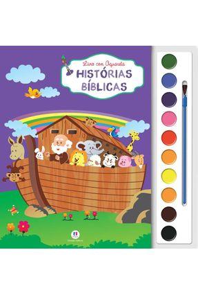 Histórias Bíblicas - Livro Com Aquarela - Editora Ciranda Cultural Editora Ciranda Cultural pdf epub
