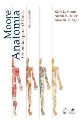 Usado - Anatomia Orientada Para A Clínica - 7ª Ed. 2014 - Vários Autores   Hoshan.org
