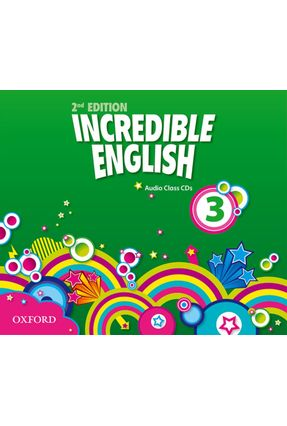 Incredible English - Level 3 - Class Audio Cds - Editora Oxford | Hoshan.org