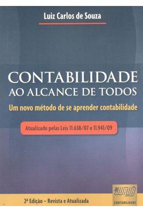 Contabilidade Ao Alcance de Todos - Souza,Luiz Carlos de pdf epub