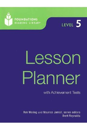 Foundations Reading Library Level 5 - Lesson Planner - Waring,Rob | Hoshan.org