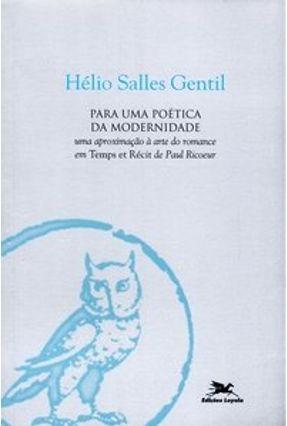 Para uma Poética da Modernidade - Gentil,Hélio Salles   Nisrs.org
