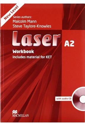 Laser A2 - Workbook With Audio CD - No Key - New Edition - Macmillan | Tagrny.org