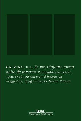 Se um Viajante Numa Noite de Inverno - Calvino,Ítalo Calvino,Ítalo   Hoshan.org