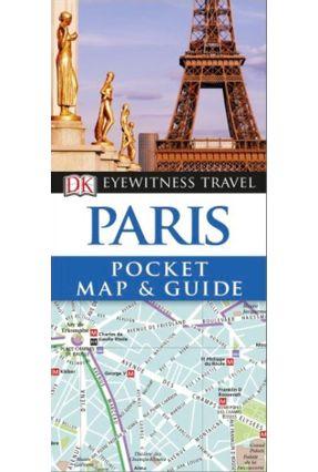 Dk Eyewitness Pocket Map And Guide - Paris - Dk | Hoshan.org