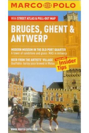 Bruges, Ghent & Antwerp - Marco Polo Pocket Guide - Polo,Marco pdf epub