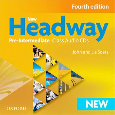 New Headway - Pre-Intermediate - Class Audio CDs - 4ª Ed.