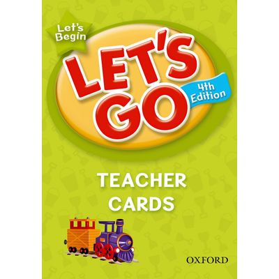 Let's Go - Let's Begin - Teacher Cards - Language Level - 4 ed.