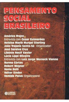 Pensamento Social Brasileiro - Bencostta,Marcus Levy Albino   Nisrs.org