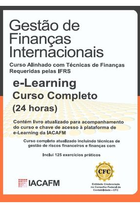 Gestão de Finanças Internacionais - Livro + E-learning - Editora Iacafm   Hoshan.org