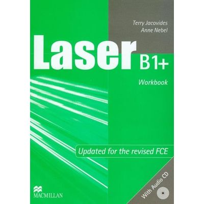 Laser B1+ - No Key - Exams - Workbook + Audio CD