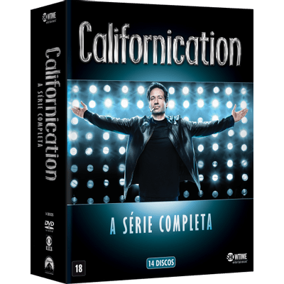 DVD Californication - A Série Completa - 14 Discos