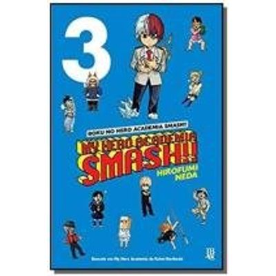 MY HERO ACADEMIA SMASHI!! - VOL. 03