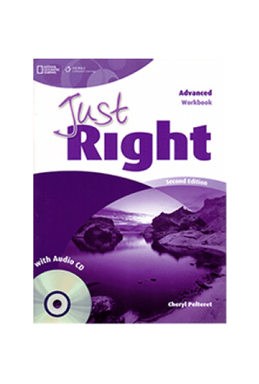 Just Right Advanced - Student Book - Harmer | Tagrny.org