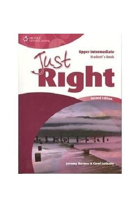 Just Right Upper-Intermidiate - Student Book - Harmer | Hoshan.org