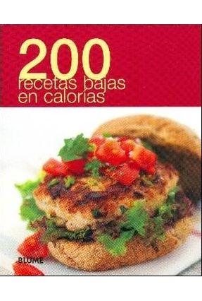 200 Recetas Bajas En Calorías - Col. 200 - Diversos | Hoshan.org