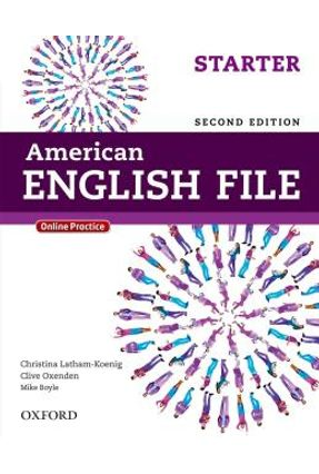 American English File Starter - Student's Book With Itutor - 2ª Ed.