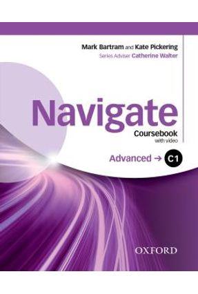 Navigate  C1 Advanced - Coursebook, E-Book And Oxford Online