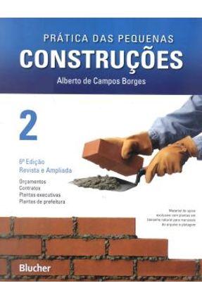 Prática das Pequenas Construcões - Vol. 2 - 6ª Ed. 2010