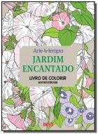 Jardim Encantado Livro De Colorir Antiestresse Saraiva
