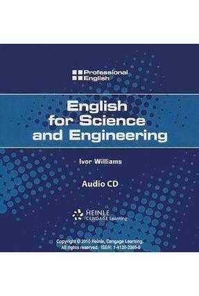 Professional English - English For Science And Engineering - Audio CD - Williams,Ivor O´brien,Josephine Johannsen,Kristin L. Milner,Martin | Tagrny.org