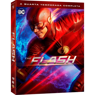 DVD The Flash - 4ª Temporada - 5 Discos
