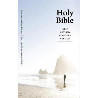 Holy Bible - New Revised Standard Version (Nrsv) Anglicised Cross-Reference Edition With Apocrypha