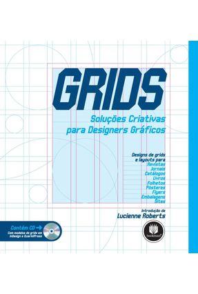Usado - Grids - Soluções Criativas para Designers Gráficos - Acompanha CD - Rotovision,Editores | Tagrny.org