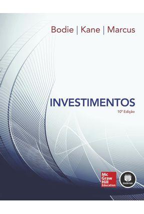 Usado - Investimentos - 10ª Ed. 2014 - Bodie,Zvi Kane,Alex Marcus,Alan J. | Hoshan.org
