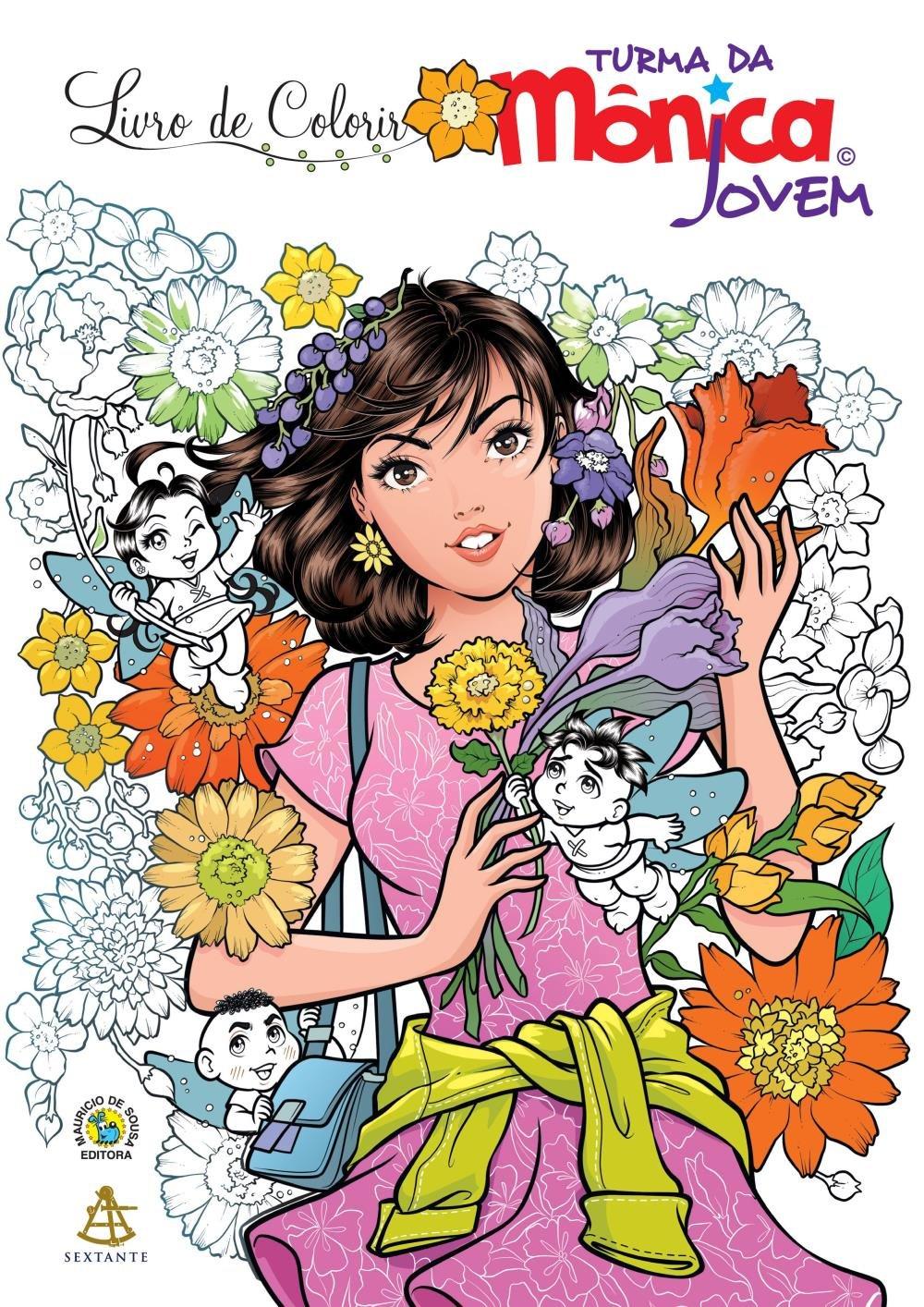 Livro De Colorir Turma Da Monica Jovem Saraiva