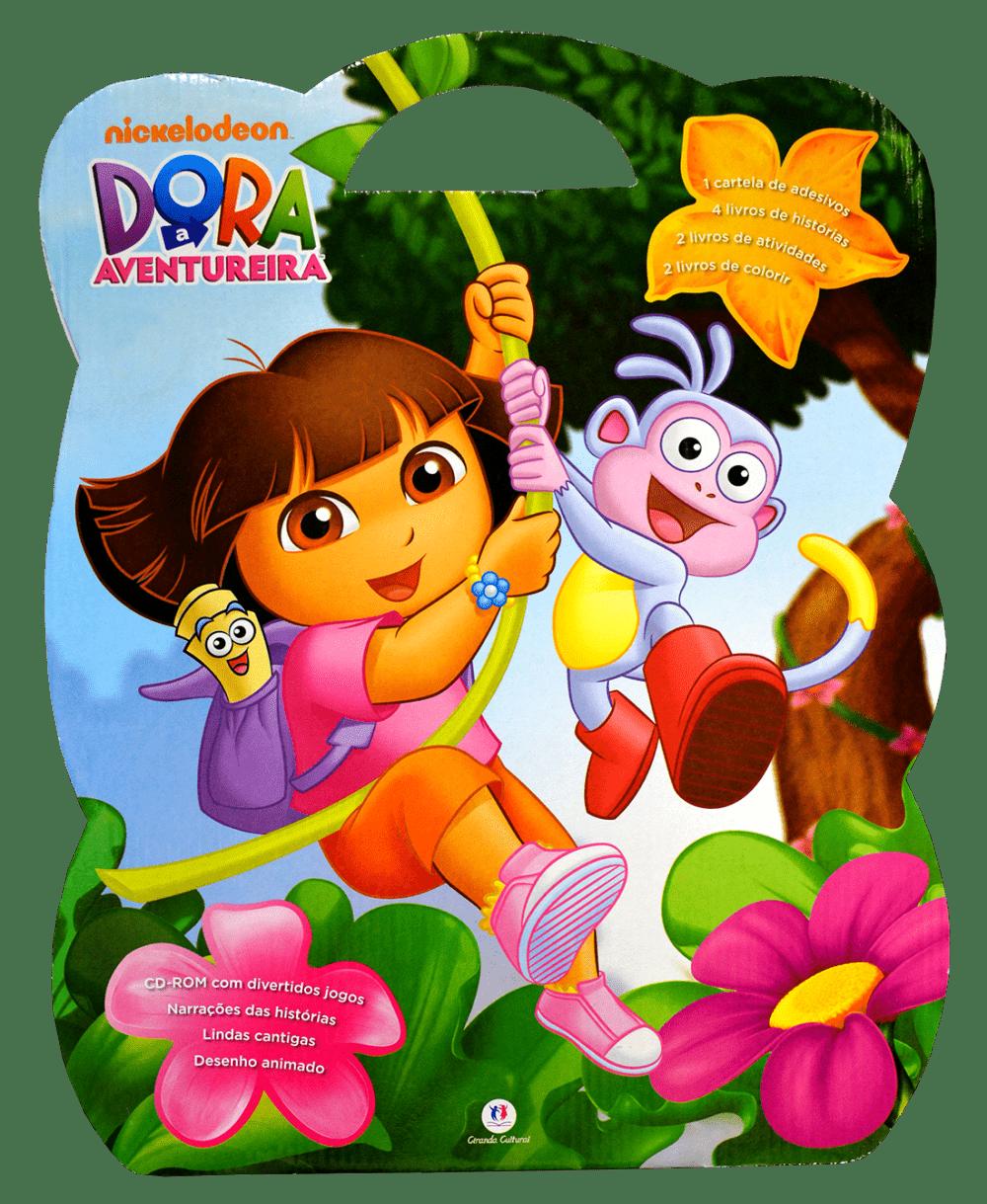 Dora Aventureira Maleta De Atividades Saraiva