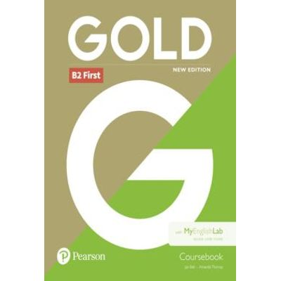 Gold B2 First New Edition - Coursebook + Myenglislab
