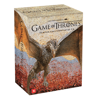 DVD Game Of Thrones - Temporadas Completas 1-6 - 30 Discos