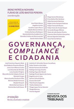 Governança, Compliance e Cidadania - Nohara,Irene Patrícia Pereira,Flávio de Leão Bastos   Hoshan.org