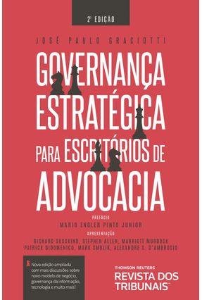 Governança Estratégica Para Escritórios De Advocacia - Graciotti,José Paulo | Hoshan.org