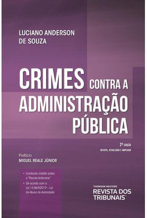 Crimes Contra A Administração Pública - Souza,Luciano Anderson de | Hoshan.org