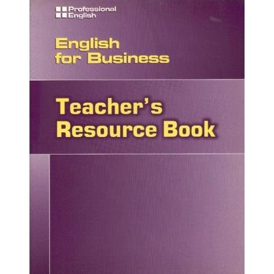 Professional English - English For Business - Teacher´S Book