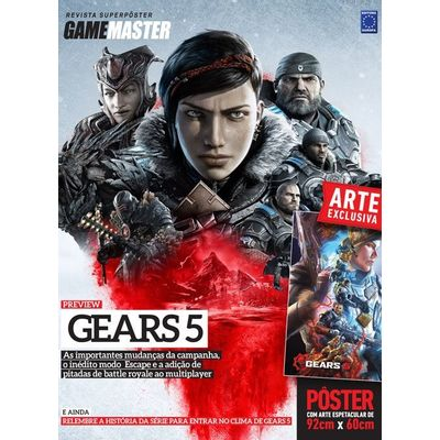 Revista Superpôster Gears 5