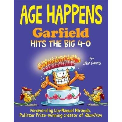 Age Happens - Garfield Hits The Big 4-0