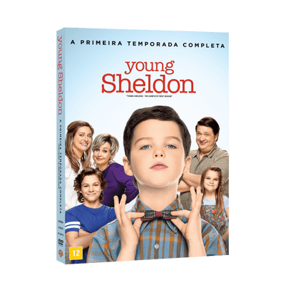 DVD Young Sheldon 1ª Temporada - 2 Discos