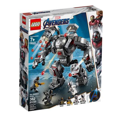 LEGO Avengers - Disney - Marvel - Ultimato - War Machine Buster - 76124