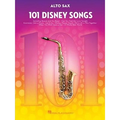 101 Disney Songs - For Alto Sax