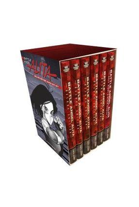 Battle Angel Alita Deluxe Complete Series Box Set - Kishiro,Yukito   Hoshan.org