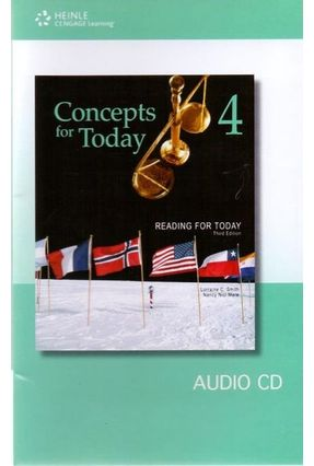 Reading For Today 4 - Concepts For Today - Audio CD - Smith,Lorraine C. Mare,Nancy Nici pdf epub